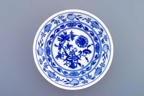 Cibulák Miska hladká nízká 16,2 cm originální cibulákový porcelán Dubí, cibulový vzor,