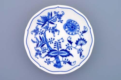 Cibulák Podšálek D 18,5 cm originální cibulákový porcelán Dubí, cibulový vzor, 1.jakost