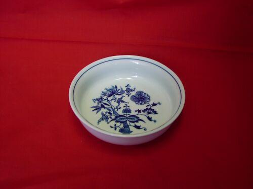 Cibulák Mísa zapékací kulatá malá 16,2 cm originální cibulákový porcelán Dubí, cibulový vzor,