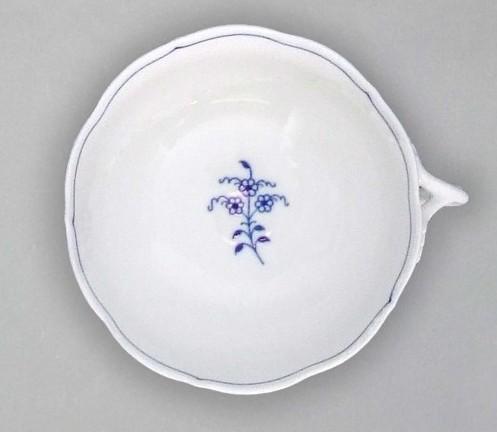 Cibulák Šálek bujón s 1 ouškem 0,30 l originální cibulákový porcelán Dubí, cibulový vzor,