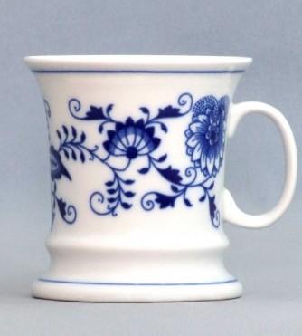 Cibulák Hrnek Emperor 0,24 l, originální cibulákový porcelán Dubí, cibulový vzor,