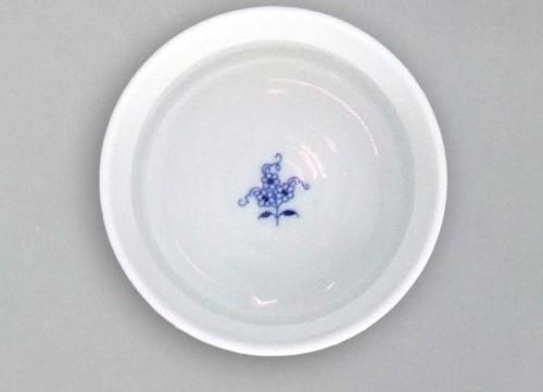 Cibulák Miska zapékací Mufi 0,20 l originální cibulákový porcelán Dubí, cibulový vzor,