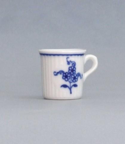Cibulák Hrnek mini Mozart 0,009 l originální cibulákový porcelán Dubí, cibulový vzor,
