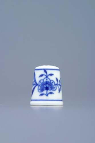 Cibulák Náprstek 2,7 cm originální cibulákový porcelán Dubí, cibulový vzor