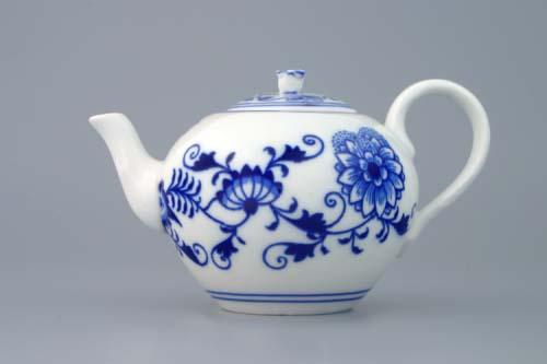 konvice cibulák čajová víčkem 0,35 L originální český porcelán Dubí
