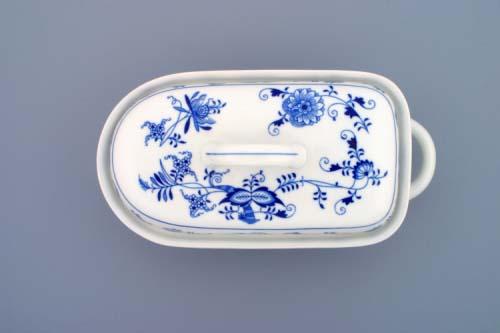 Cibulákový pekáč malý 1,2 l originální cibulák,cibulový porcelán Dubí
