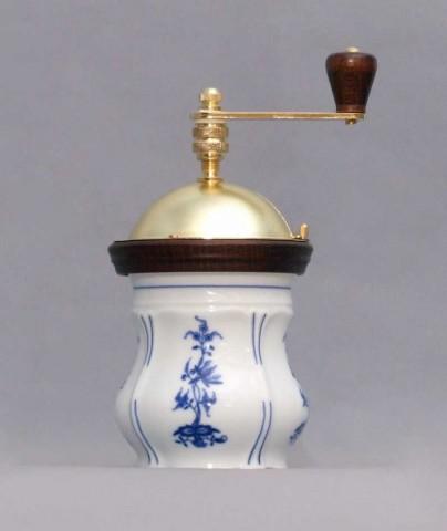 Cibulák Mlýnek na kávu Aneta 19 cm originální cibulákový porcelán Dubí, cibulový vzor