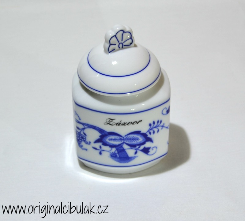 Cibulák Souprava 6 kořenek - rozšířená řada, originální cibulákový porcelán Dubí , cibulový vzor,