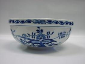 Cibulák Mísa kulatá malá 17 cm originální cibulákový porcelán Dubí, cibulový vzor,