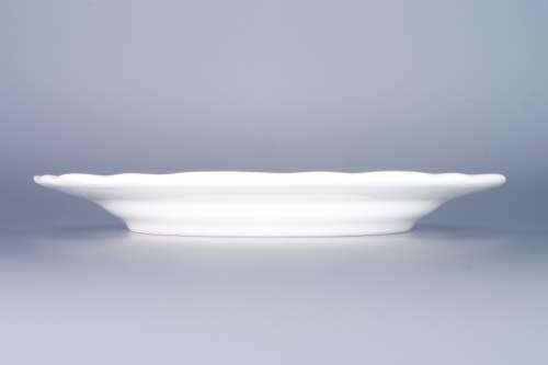Talíř cibulák mělký 24 cm originál cibulový porcelán Dubí