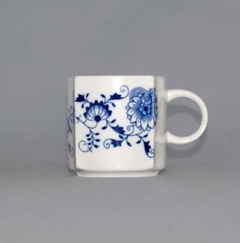 Cibulák Šálek Vito 0,21 l originální cibulákový porcelán Dubí, cibulový vzor