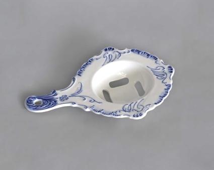 Cibulák Oddělovač bílku 17 cm originální cibulákový porcelán Dubí, cibulový vzor