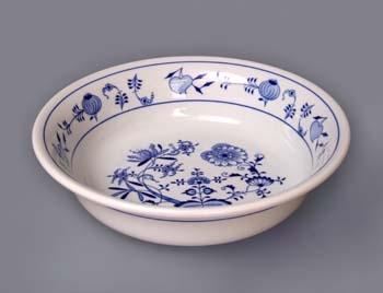 Cibulák Hygienická souprava - umyvadlo 35 cm originální cibulákový porcelán Dubí, cibulový vzor,