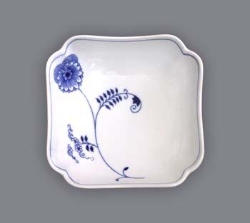 Mísa salátová čtyřhranná vysoká 15 cm ECO cibulák, cibulový porcelán Dubí