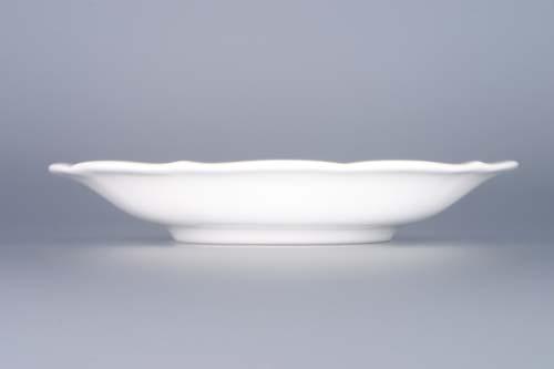 šálek a podšálek C/1+ZC1 (zrcadlový podšálek) čajový 0,20 l originální český porcelán Dubí 2.jakost