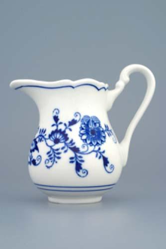 Cibulák mlékovka vysoká 0,25 l český porcelán Dubí
