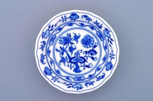 Cibulák miska kompotová 13 cm originální cibulákový porcelán Dubí, cibulový vzor, 2.jakost