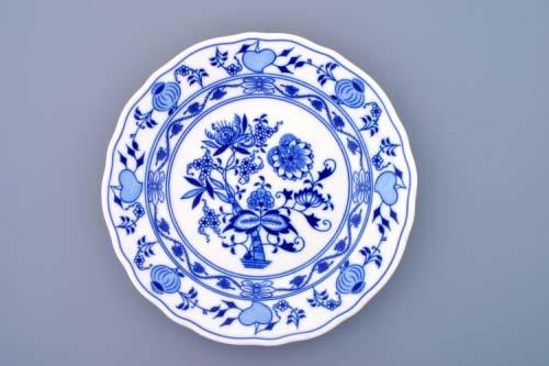 cibulový porcelán talíř mělký 24cm
