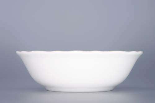 Miska porcelán bílý kompotová vysoká 14 cm Český porcelán Dubí