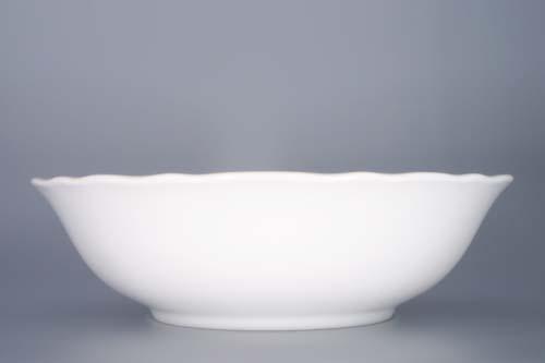 Mísa kompotová vysoká porcelán bílý 21 cm Český porcelán Dubí