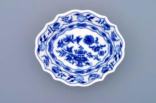 Cibulák miska na cukr 13 cm originální cibulákový porcelán Dubí, cibulový vzor,