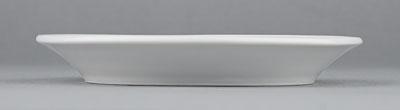 Podšálek porcelánový bílý Hotelový pod mocca 10,5cm Český porcelán Bohemia