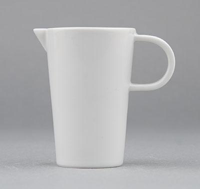 Mlékovka porcelánová bílá Hotelová 0,075l Český porcelán Bohemia