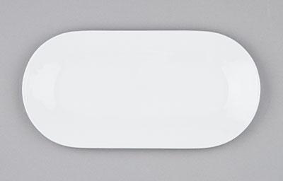 Mísa porcelánová bílá Hotelová oválná 56cm Český porcelán Bohemia