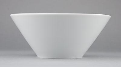 Mísa porcelánová bílá Hotelová salátová 1l Český porcelán Bohemia