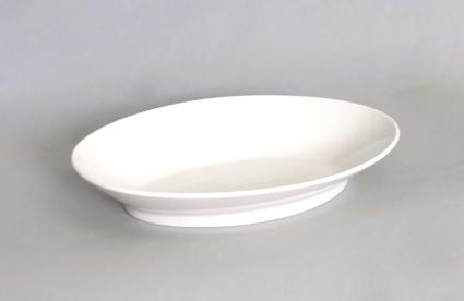 Mísa porcelánová bílá oválová na špagety 28cm Český porcelán Bohemia