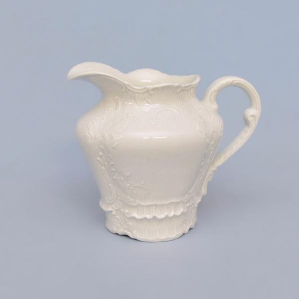 Mlékovka porcelánová bílá Opera 0,40 l Český porcelán Dubí
