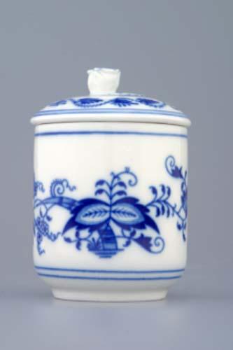 Tělo k hořořčičníku 0,10 l originální cibulákový porcelán Dubí, cibulový vzor