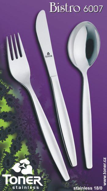 Vidlička jídelní TONER Bistro 1 ks nerez 6007