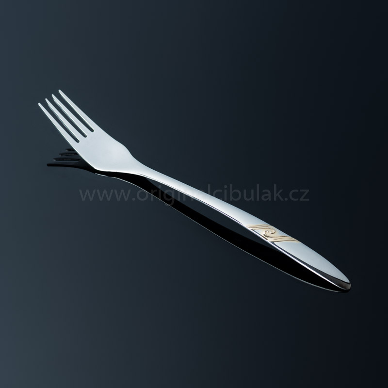 Nůž jídelní Romance Gold zlacený 1 ks Toner nerez 6005