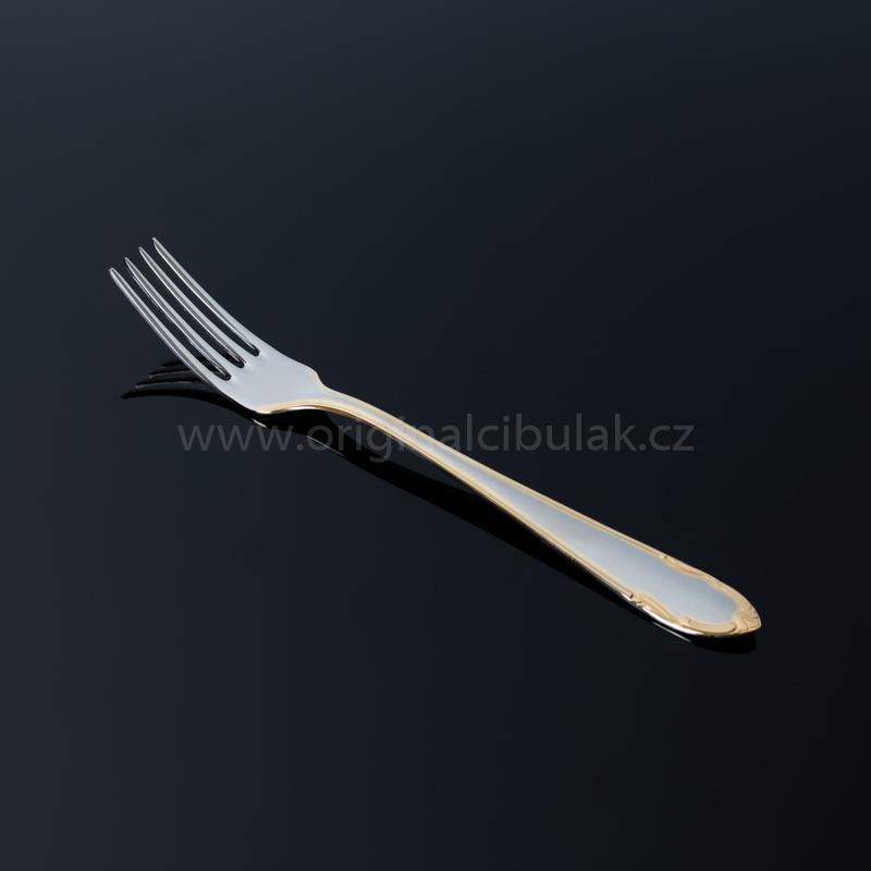 Lžíce jídelní Classic Gold zlacená 1 ks Toner nerez