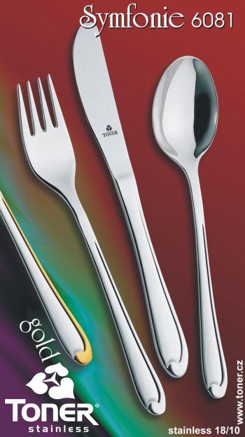 Lžíce jídelní TONER Symfonie 1 ks nerez 6081