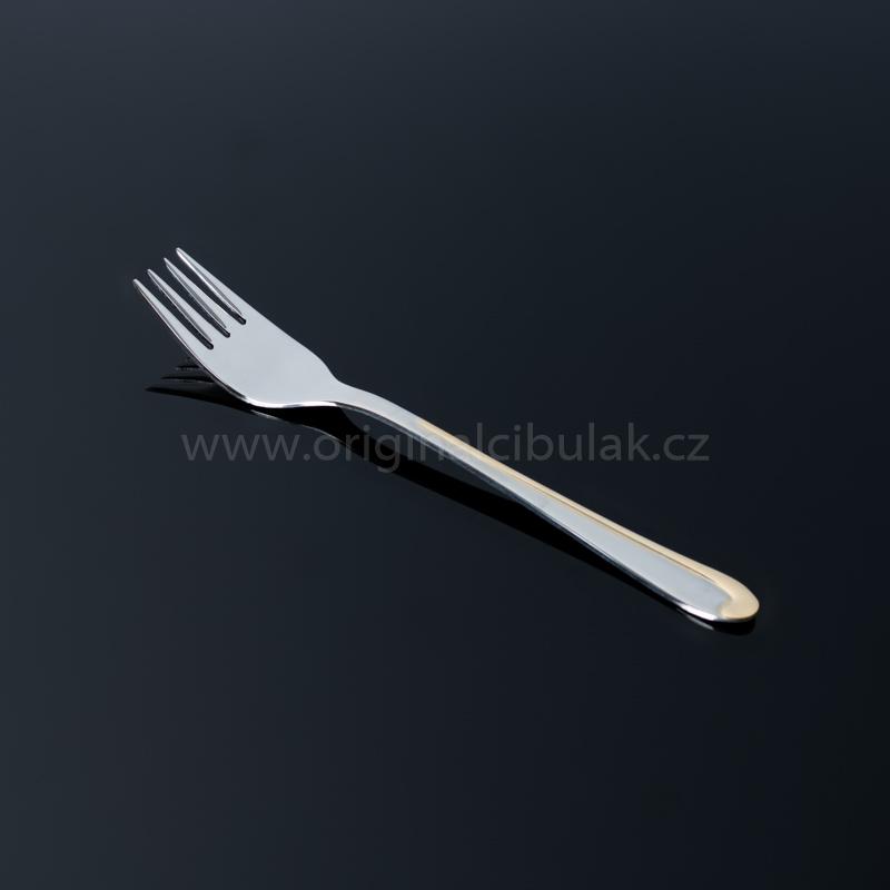 Vidlička jídelní TONER Symfonie Gold zlacená 1 ks nerez 6081