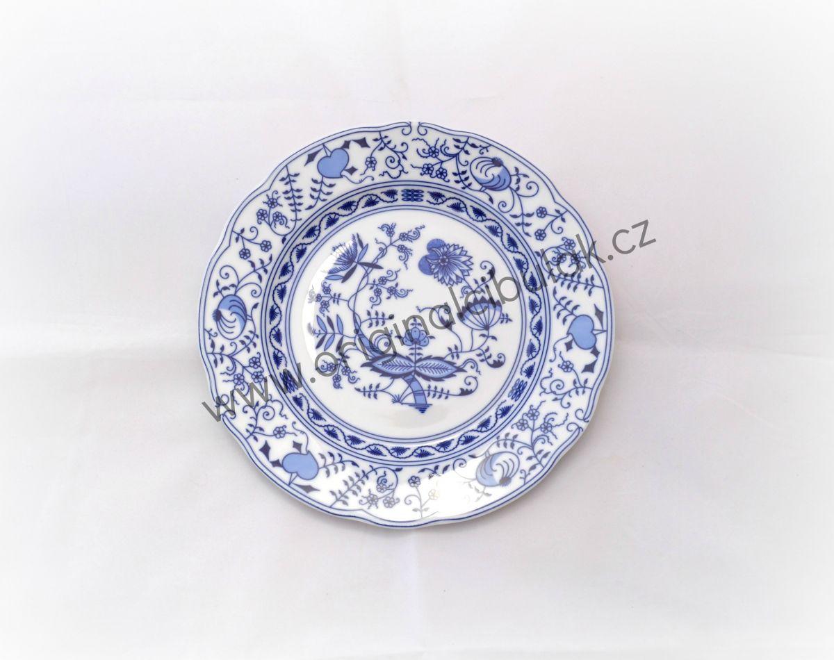 cibulák talíř dezertní 19 cm Leander cibulákový porcelán