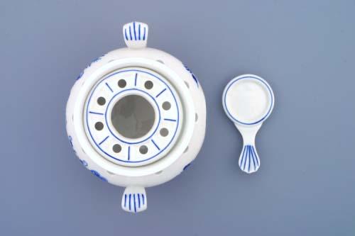 Náhradní kroužek k ohřívači 7205 originální cibulákový porcelán Dubí, cibulový vzor,
