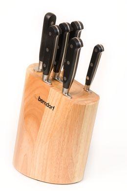 Sada kuchyňských nožů Berndorf Profi-line 6ks dřevěný stojan blok
