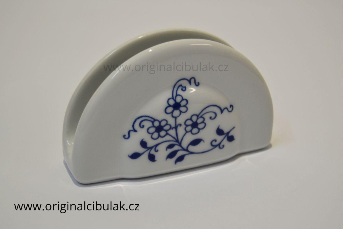 stojánek na ubrousky cibulák Henriette henrieta Saphyr Thun 1 ks cibulákový porcelán Nová Role