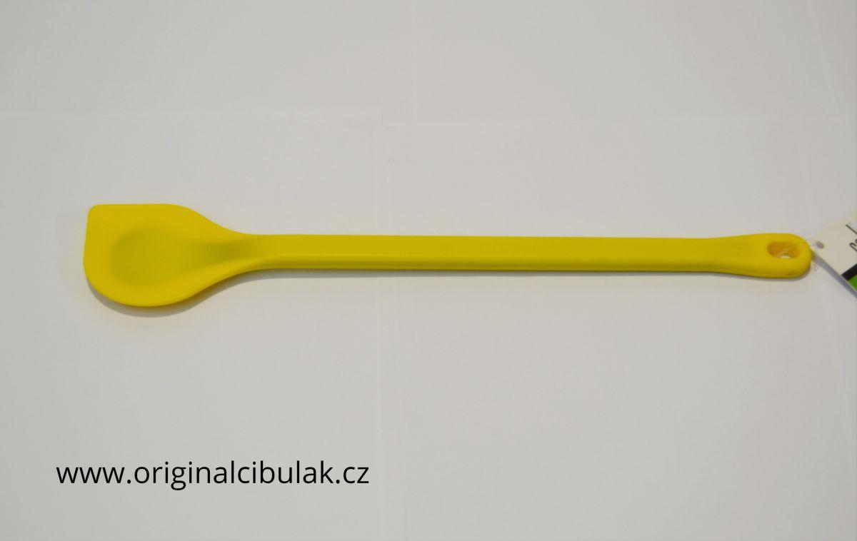 vařečka silikonová se špicí 31 cm žlutá Berndorf Collini