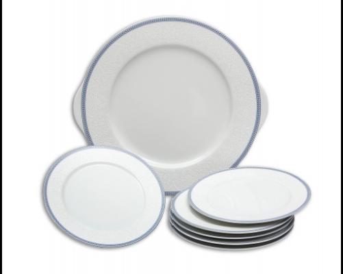 pepřenka Opál krajka modrá Thun 1 ks český porcelán