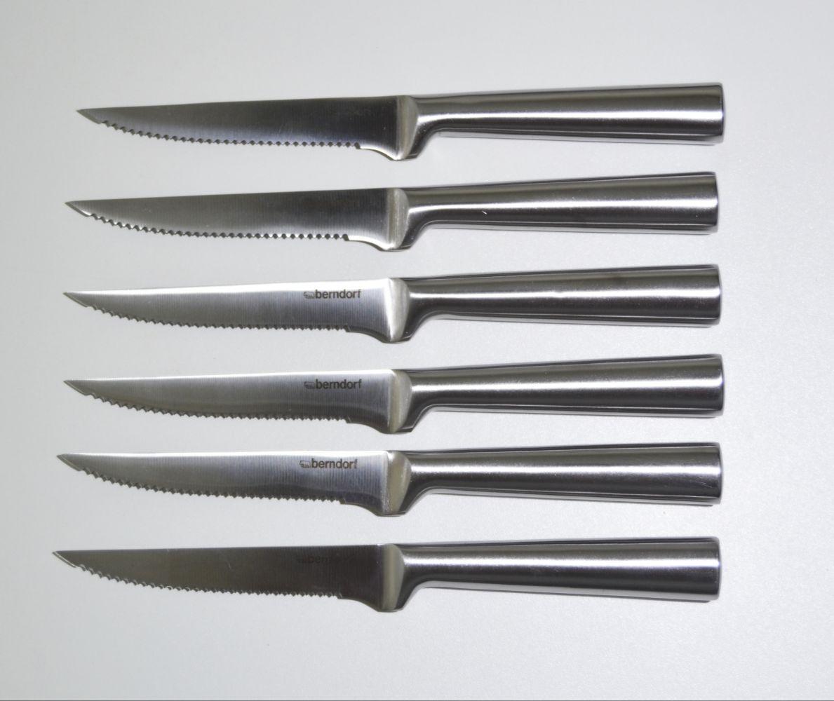 nože na steak 6 ks Berndorf