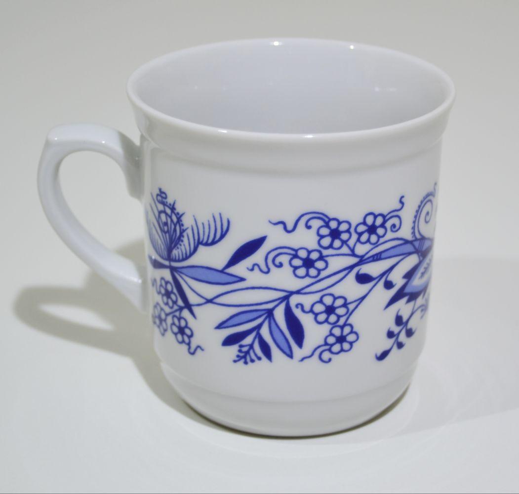 hrnek Dan cibulák 9 cm Henriette Henrieta Saphyr Thun český porcelán