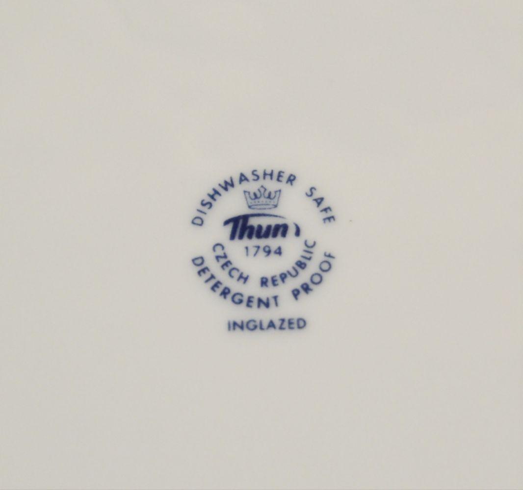 mísa cibulák Henriette oválná 36 cm Henrieta Saphyr Thun český porcelán