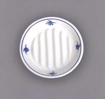 mýdelníček cibulák 12 cm originální český porcelán Dubí hygienická souprava