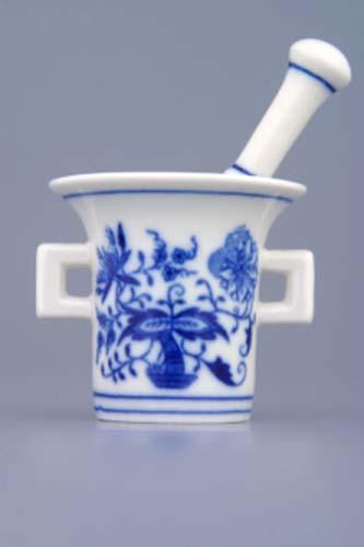 hmoždíř cibulák mini 5 cm originální český porcelán Dubí dva díly