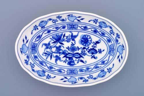 mísa cibulák salátová oválná 20 cm originální český porcelán Dubí 2.jakost