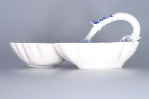 kabaret cibulák 3 dílný originální český porcelán Dubí